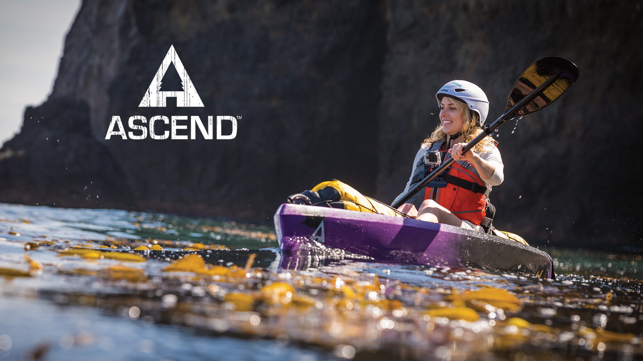 Ascend fishing and recreational kayaks